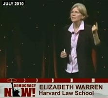 Elizabeth Warren on Democracy Now