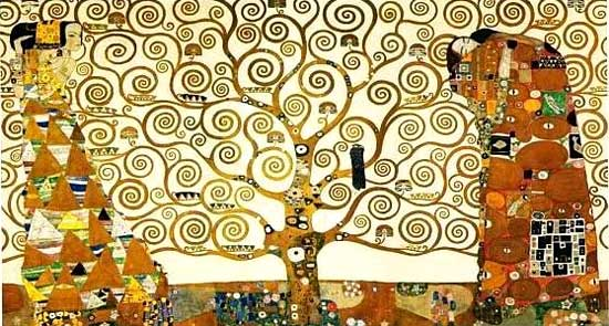 Gustav Klimt - The Tree of Life http://www.artinthepicture.com/paintings/Gustav_Klimt/The-Tree-of-Life/