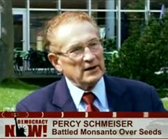 Percy Schmeiser on Democracy Now
