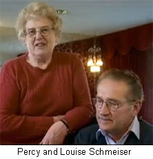 Percy and Louise Schmeiser